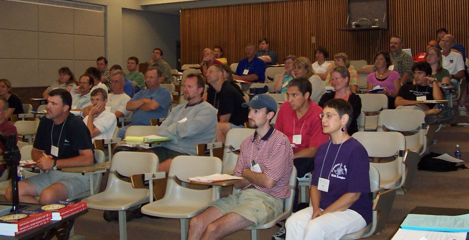 Picture from the 2008 Coaches' Conference.